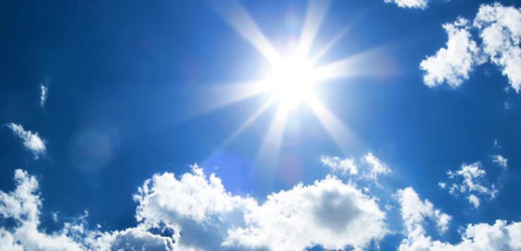 Αίθριος καιρός και άνοδος της θερμοκρασίας