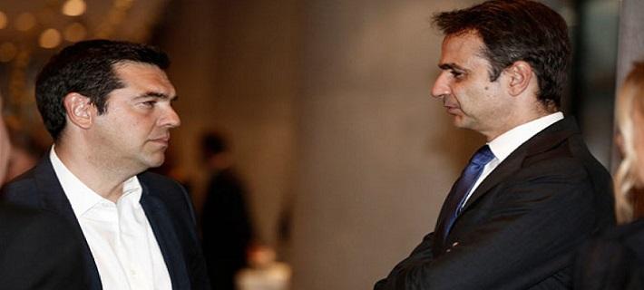Με 16 μονάδες προηγείται η Νέα Δημοκρατία έναντι του ΣΥΡΙΖΑ σε νέα δημοσκόπηση: Συγκεντρώνει 32,5% έναντι 16,5% της κυβέρνησης