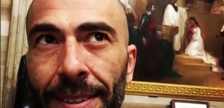 To βίντεο του Βαλάντη μέσα από το Καπιτώλιο