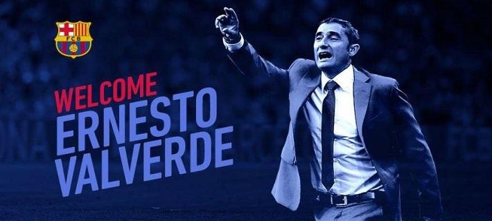 Επίσημο: Ο Ερνέστο Βαλβέρδε είναι ο νέος προπονητή της Μπαρτσελόνα