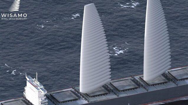 Φουσκωτά πανιά για πλοία χωρίς ρύπους από τη Michelin