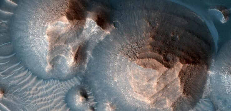 NASA: Τεράστιες εκρήξεις από χιλιάδες πανίσχυρα ηφαίστεια που εξερράγησαν στον Άρη